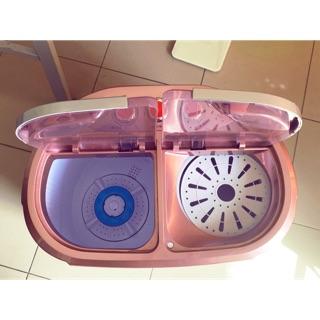 【99新】❤️ZANWA晶華 節能雙槽洗滌機 洗衣機2.5KG  ZW-218S【現貨9.9新】 台中市