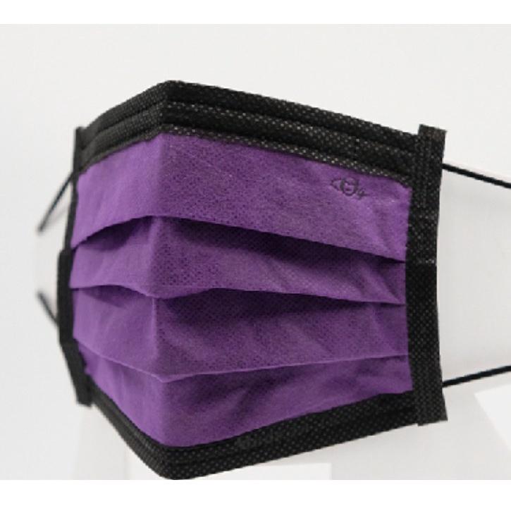 宏瑋  曜黑系列 醫療口罩 成人口罩 30入/盒  單片包裝 (曜黑紫色)