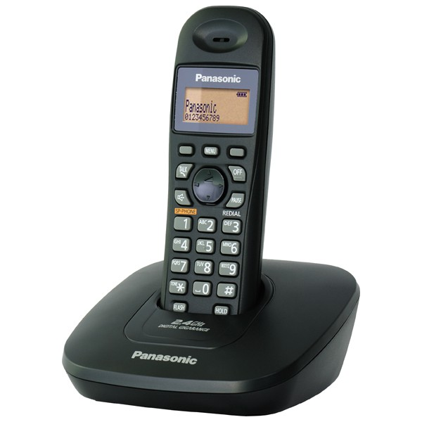 Panasonic 2.4GHz 數位式無線電話KX-TG3611(馬來西亞製)(免持擴音)平輸一年保固