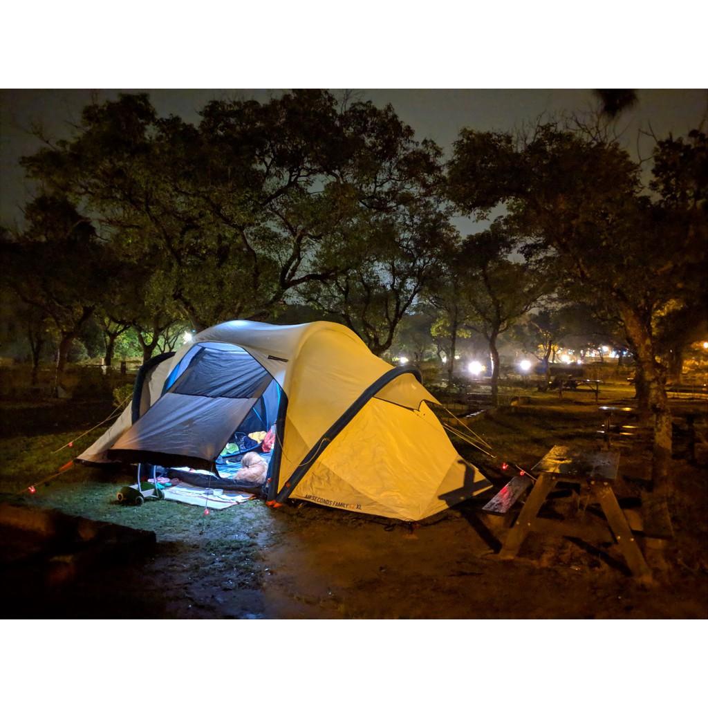 迪卡儂 DECATHLON 充氣帳篷 Airseconds 4.2 兩房一廳 二房一廳 4人帳篷含客廳帳