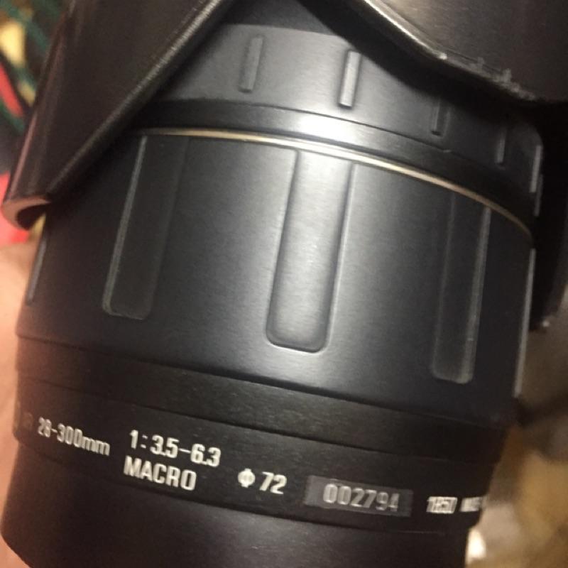 鏡頭 tamron 28 300mm af for ef canon 二手 稍有霉絲 不影響