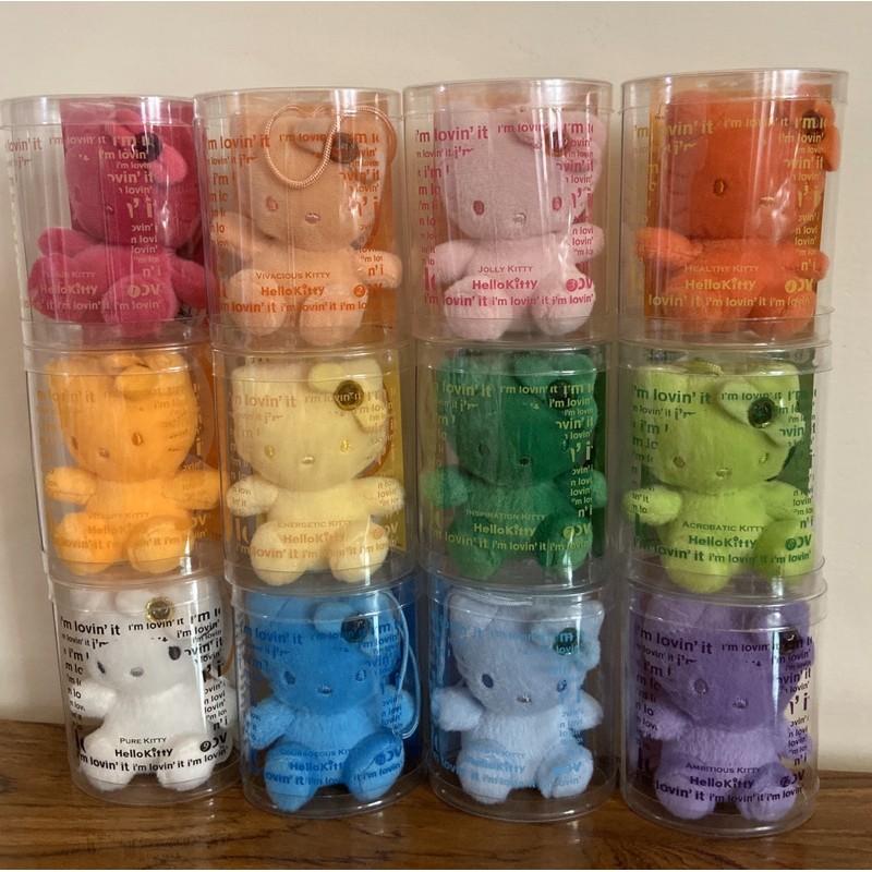 麥當勞 Hello Kitty 12星座寶石娃娃吊飾 大全套