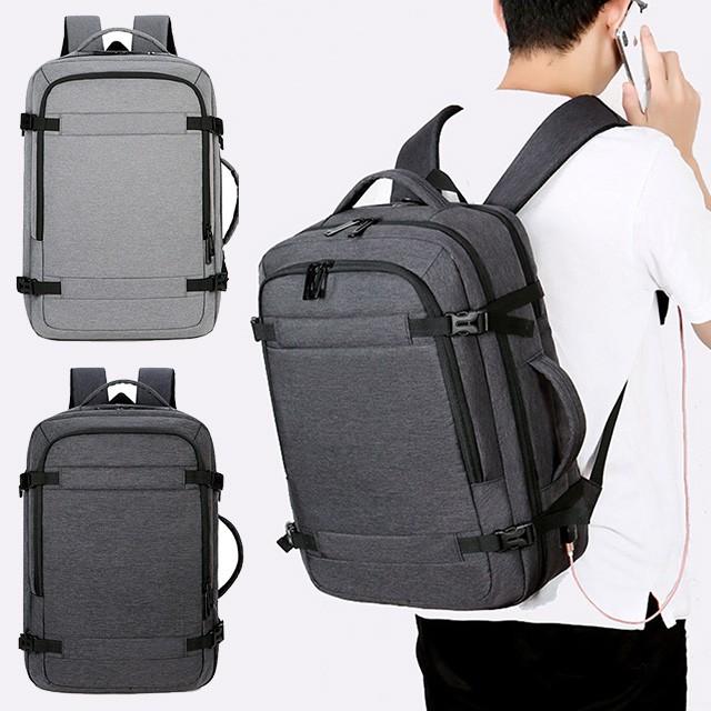 【STAR BABY】時尚型男防潑水多用途 差旅包 電腦包 後背包