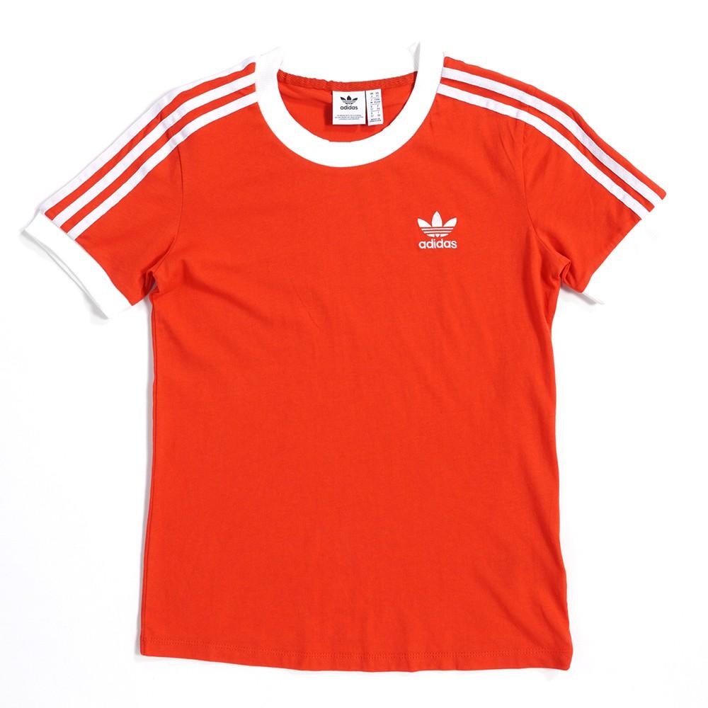 ADIDAS ORIGINALS 3-STRIPES TEE 女款 運動 休閒 短袖上衣 T恤 FM3318