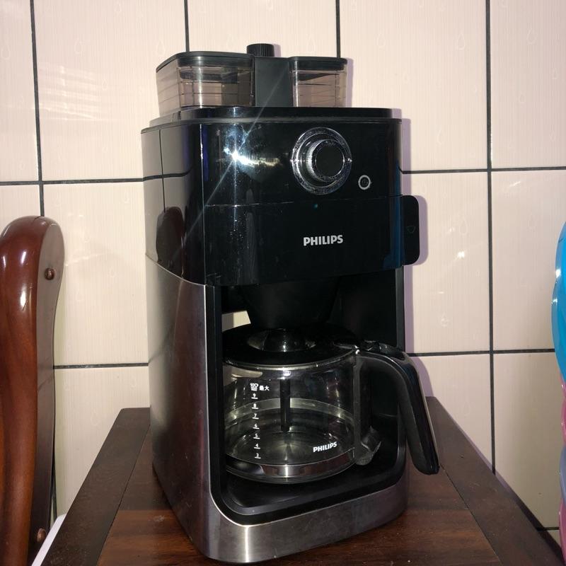 (已賣出請勿下標)全自動美式咖啡機 飛利浦PHILIPS 二手