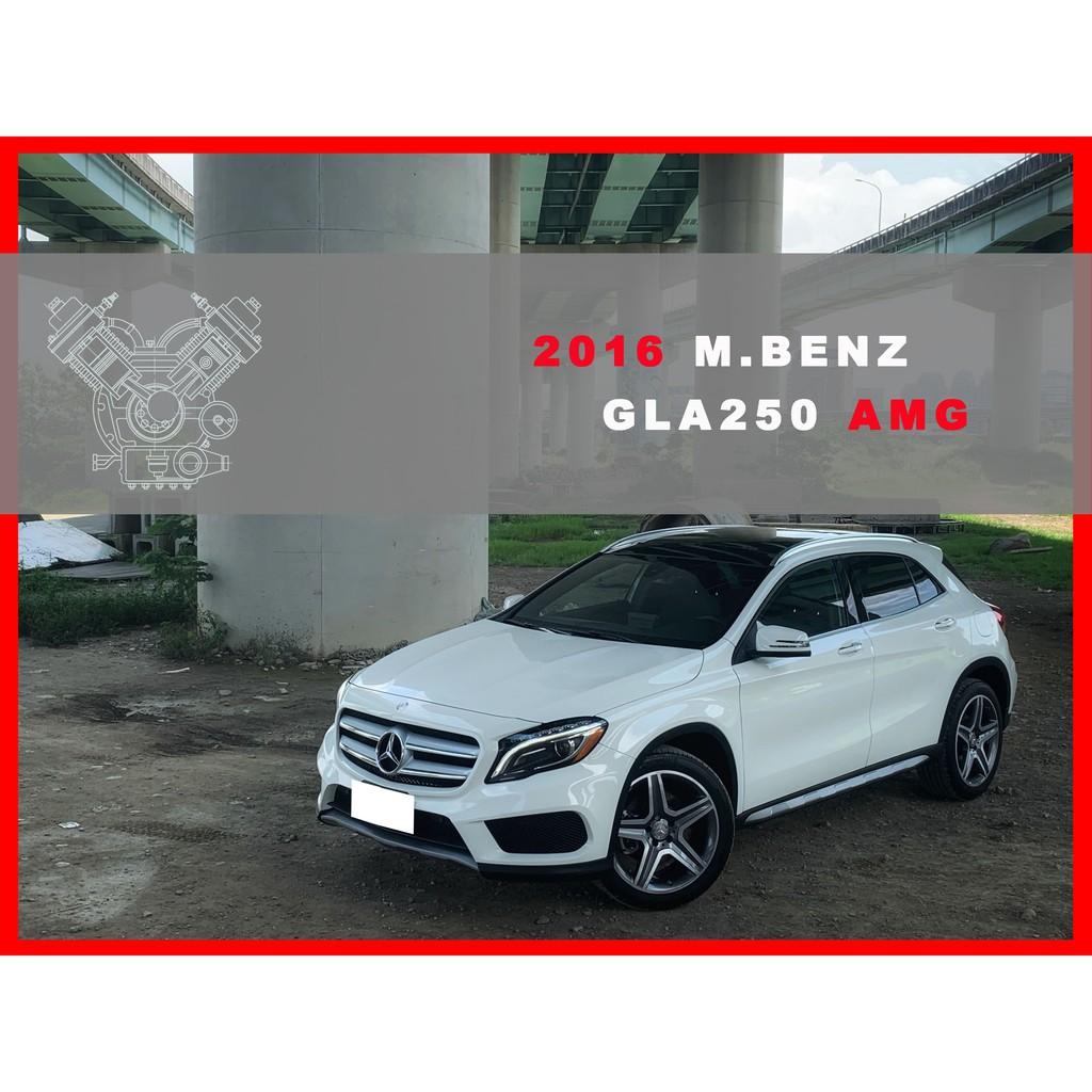 2016 MBENZ GLA250 AMG 4-MATIC #2348