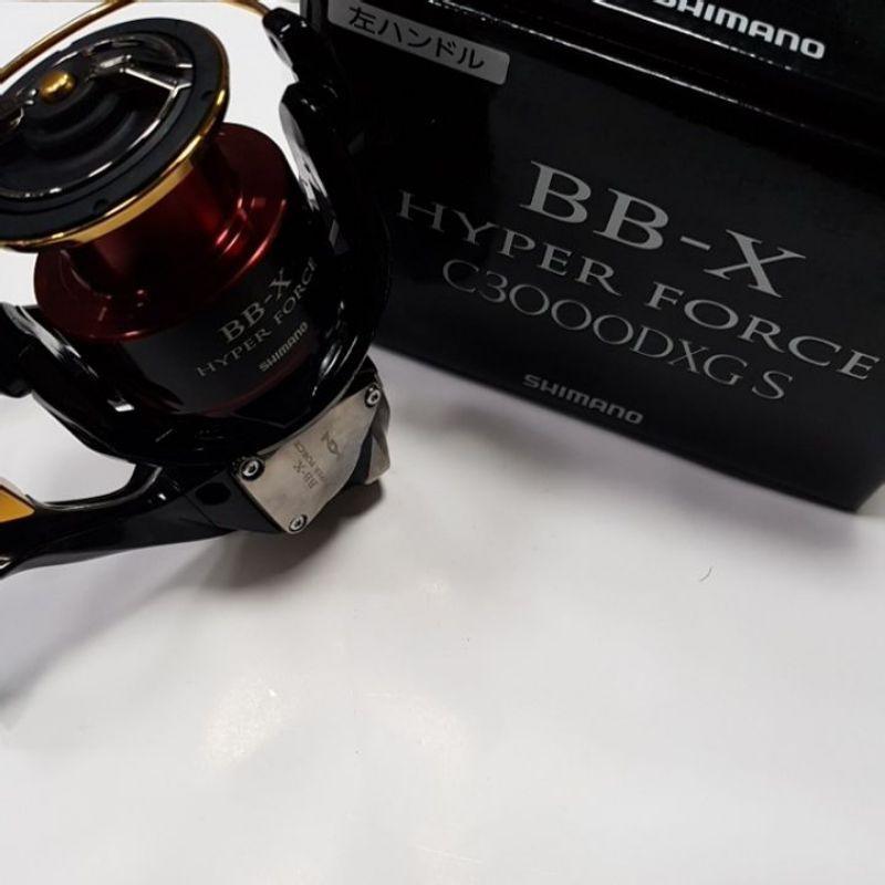 SHIMANO 17 BB-X HYPER FORCE C3000DXG S 左手 海波 SUT固定手把 手煞車捲線器