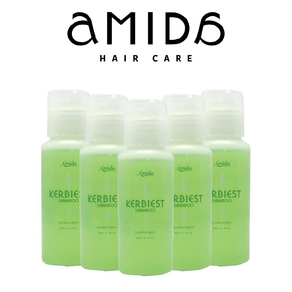 【AMIDA】葉綠素洗髮精 60ml 5入組
