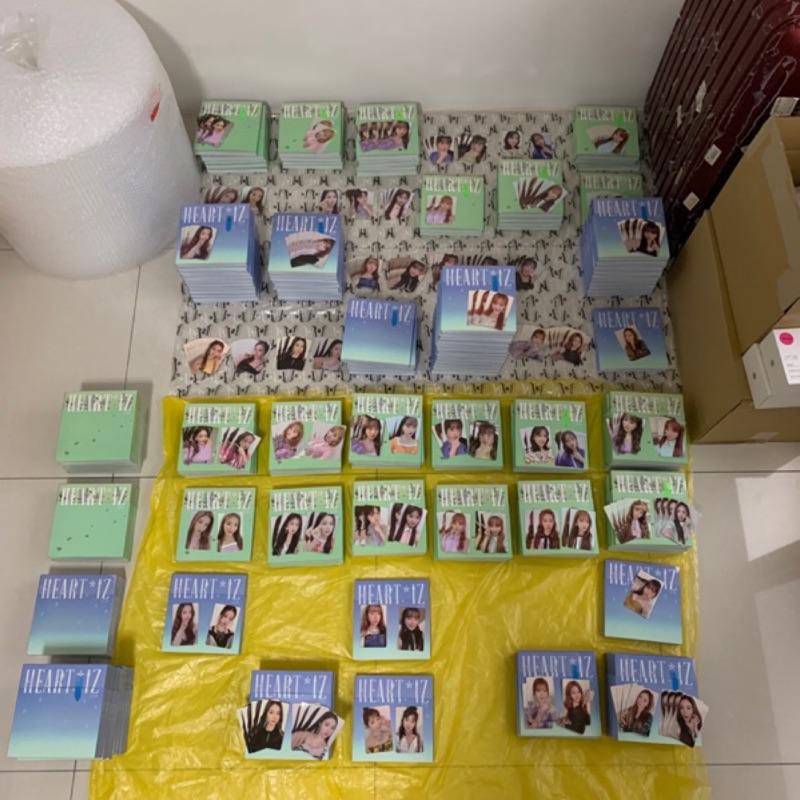 IZ*ONE [HEART*IZ] IZONE專輯(全專、配專、空專、小卡) 含海報隨機成員出貨