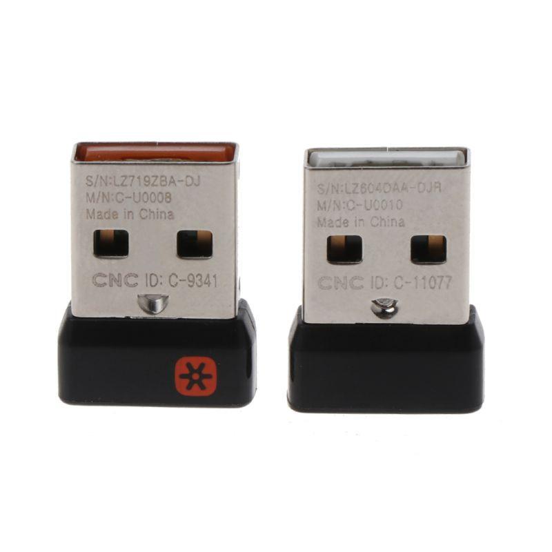 ✿ 用於 logitech 鼠標鍵盤的無線加密狗接收器統一 USB 適配器連接 6 個用於 MX M905 M950 M