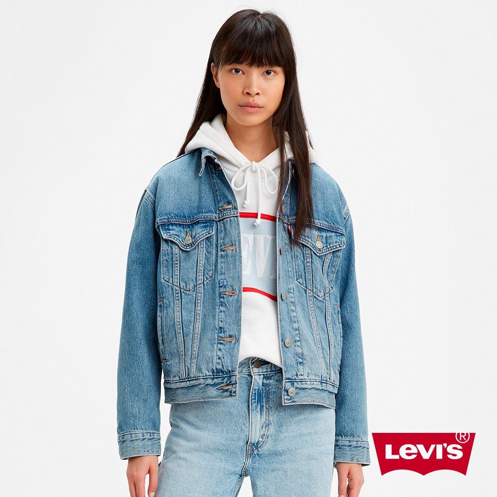 Levis 牛仔外套 / 寬鬆版型 / 淺色水洗 / Lyocell天然環保纖維 29944-0055 AO