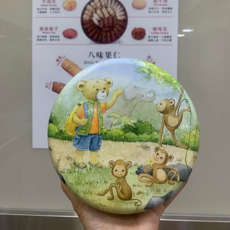 6/17發貨香港.必買的入口即化小熊餅乾 Jenny Bakery(珍妮曲奇聰明小熊) 四味奶油曲奇 連線價:420元
