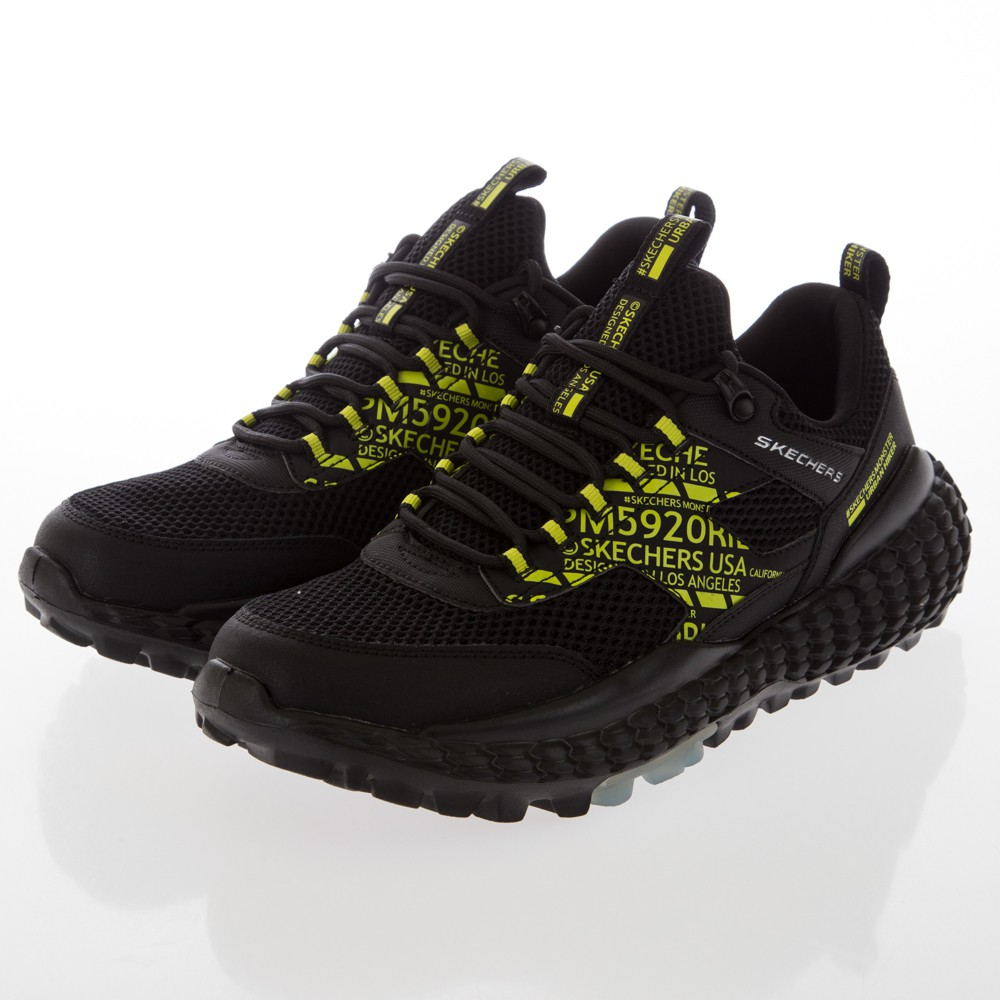 SKECHERS 男運動系列 SKECHERS MONSTER - 232189BKLM