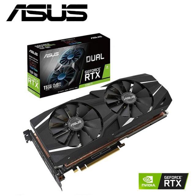 無卡分期 華碩 DUAL GeForce RTX™ 2080Ti 11G GAMING 顯示卡