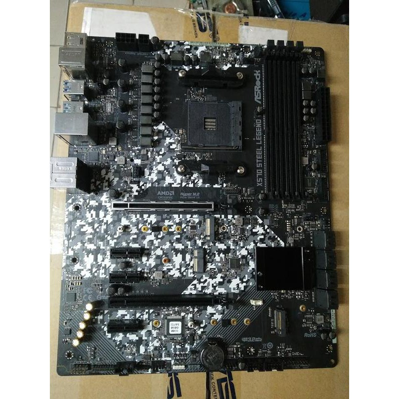欣誠電腦 華擎x570 steel legend高階主板AM4 R9 R7 非z370 z390 x370 x470