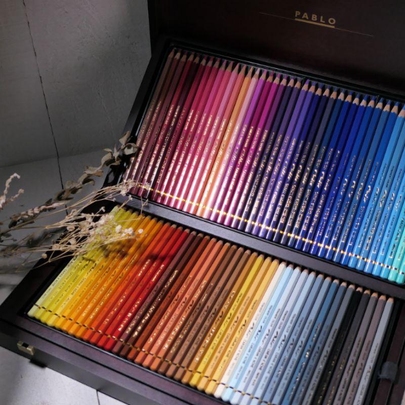 卡達Pablo專家級油性色鉛筆木盒120色