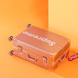 鋁框sup行李箱抗壓超大容量個性萬向輪玫瑰金旅行箱加厚版登機箱20吋24吋25吋29吋