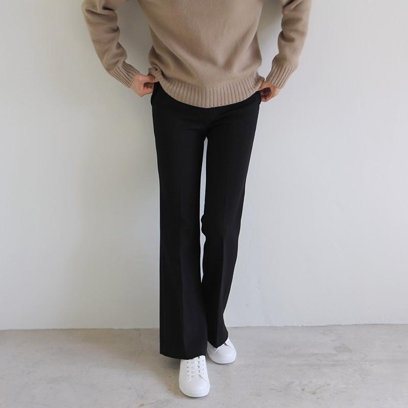 girlmonster 正韓 靴型西裝褲 (黑 /深藍/灰色) 【A0118】