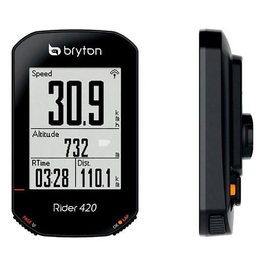 《Bryton》Rider 420E GPS無線自行車智慧訓練記錄器《新店美利達旗艦店》