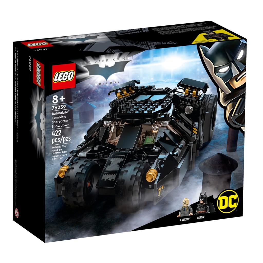 正版授權 LEGO 樂高積木 DC漫威超級英雄系列 LEGO 76239 蝙蝠車:稻草人的對決
