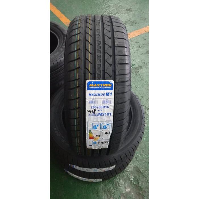 **瘋輪胎** MAXTREK 新迪斯輪胎 M1 205/55-16 中國製低噪音 本月超低價特賣中 歡迎詢價