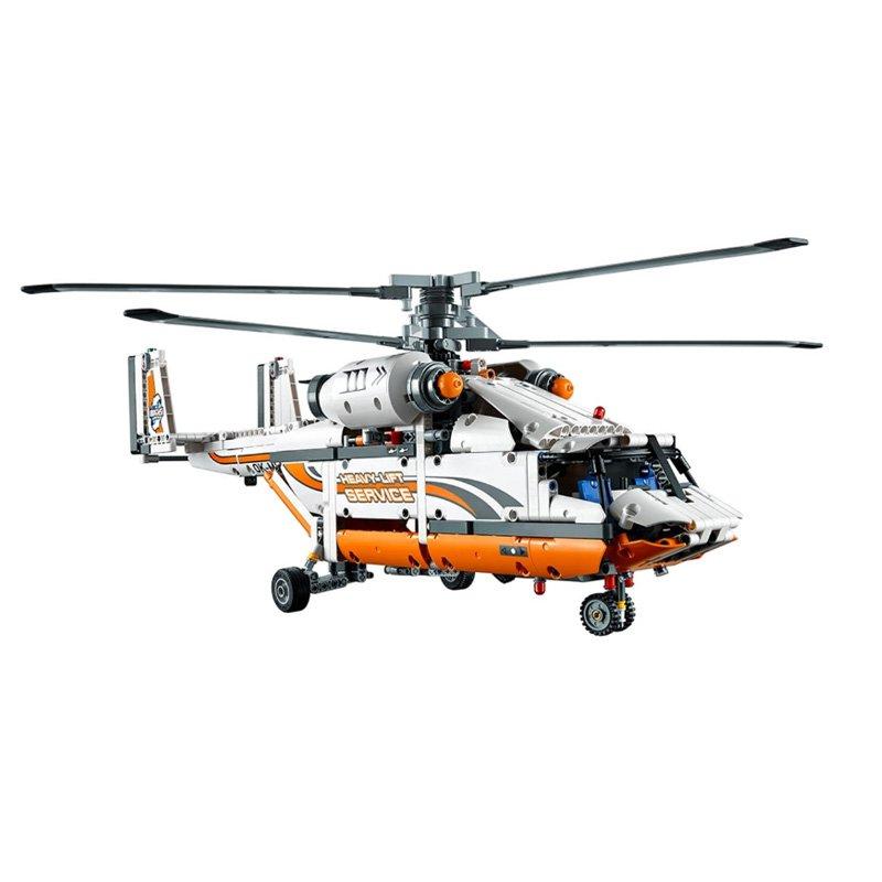 LEGO樂高 42052重型運輸直升機科技機械組系列積木帶電機拼裝玩具