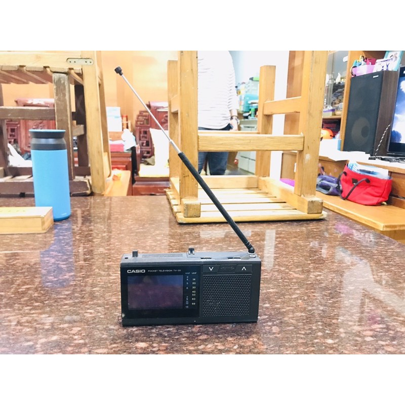 懷舊早期CASIO TV-20小電視 復古 收藏