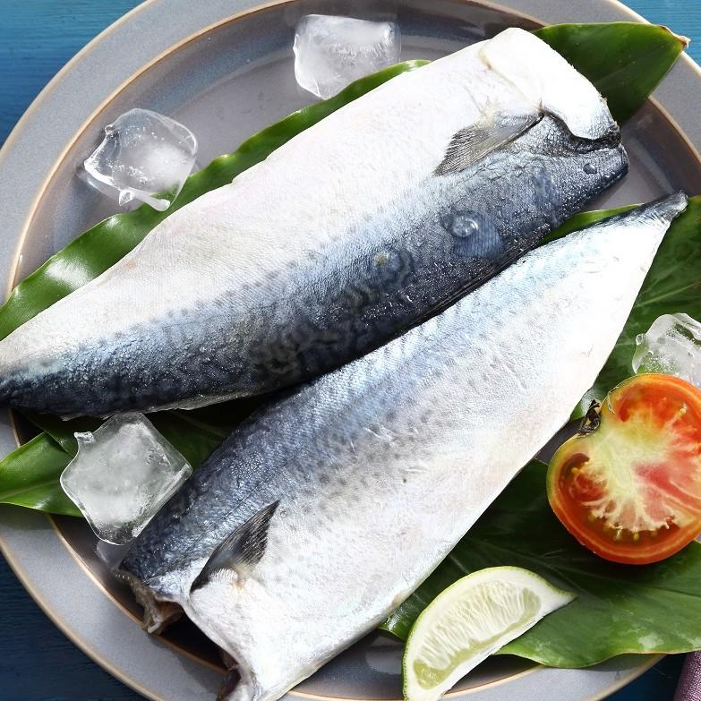 【上野物產】宜蘭薄鹽鯖魚片 160g/片