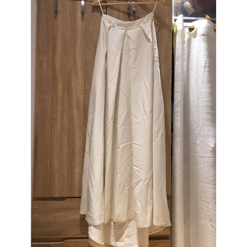 Caspia lili EVA 二手婚紗/拍照輕婚紗/白色長裙
