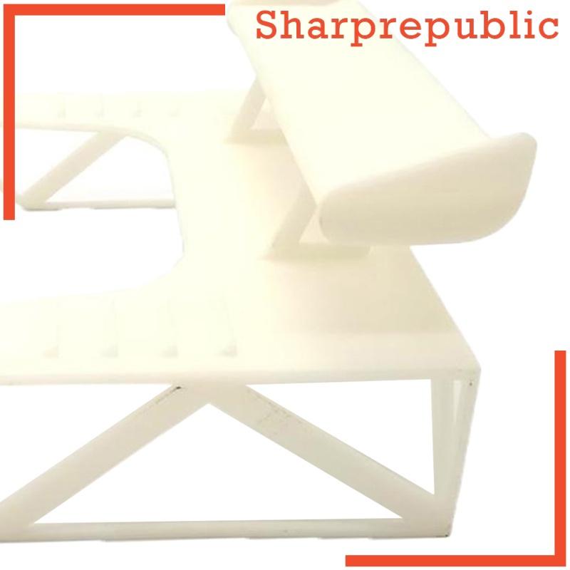 [Sharprepublic] 升級塑料 RC 尾翼 WPL D12 攀爬車 SUV 光滑車輛零件