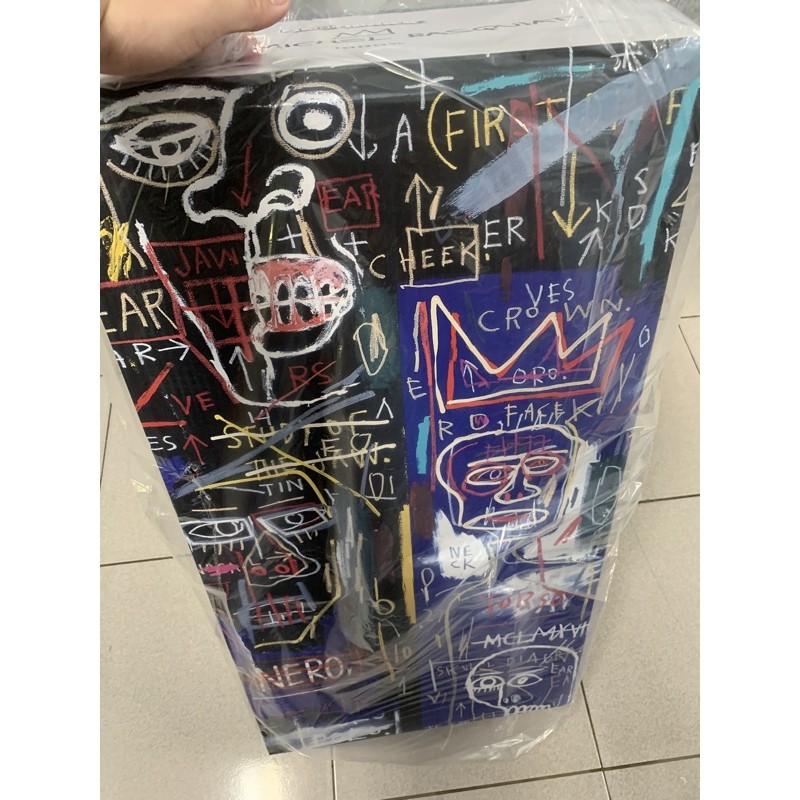 be@rbrick Basquiat 7 七代 巴斯奇亞7代 1000% 暴力熊 庫柏力克 台南 潮玩 公仔 玩具 收藏