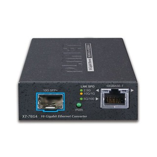 普萊德[XT-705A]10G SFP+轉2.5G/ 5G/ 10GBASE-T RJ45 光電轉換器 光纖乙太網路交換器 彰化縣