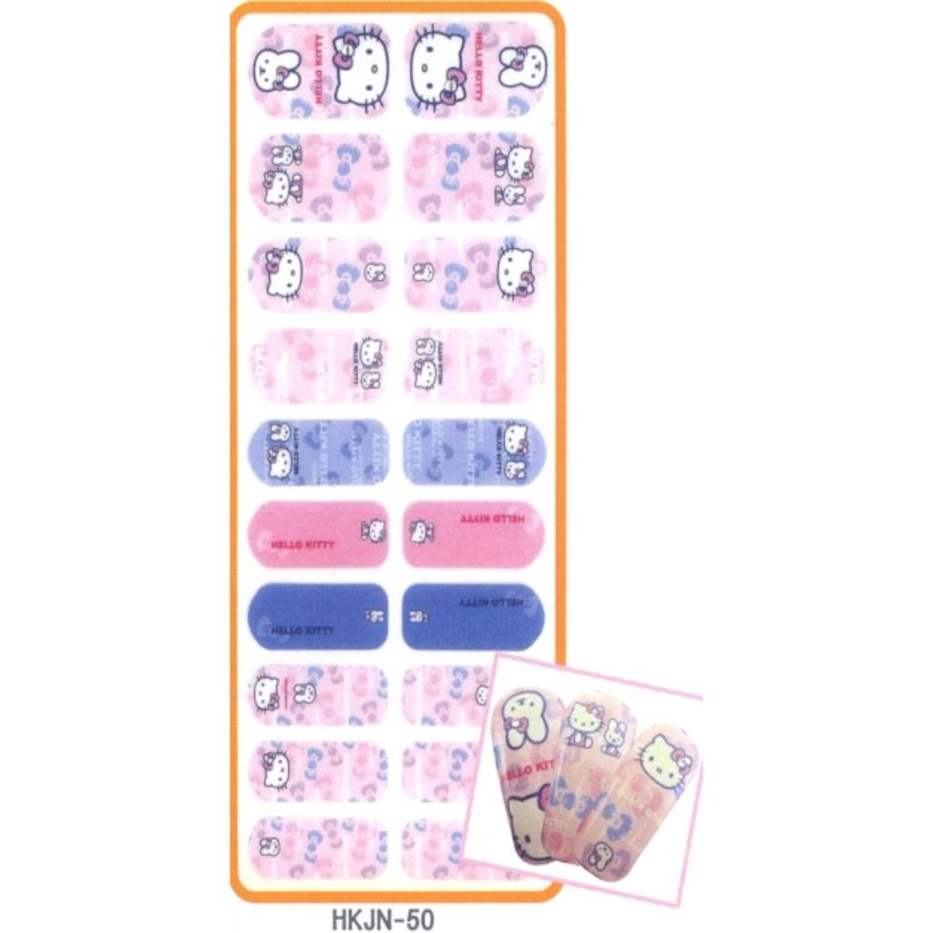 Hello Kitty 搖滾指甲彩繪貼 -50 /美甲貼
