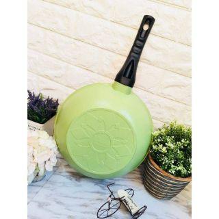 ✨現貨✨  韓國Ecoramic鈦晶石頭抗菌不沾鍋-28CM深炒鍋 新竹市