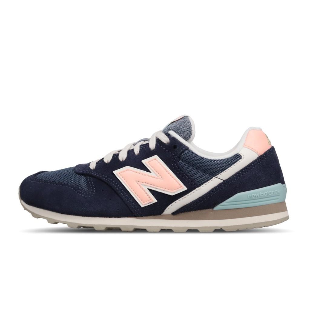 New Balance 休閒鞋 NB 996 藍 粉紅 女鞋 復古慢跑鞋 運動鞋 麂皮 WL996COJ B 【ACS】
