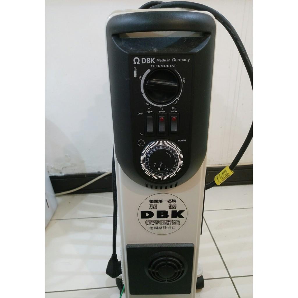嘉儀 HELLER 德國電暖器 電熱暖氣 DBK KE10TF 10片葉片 預約定時開關 烘衣架 (需自行搬運)