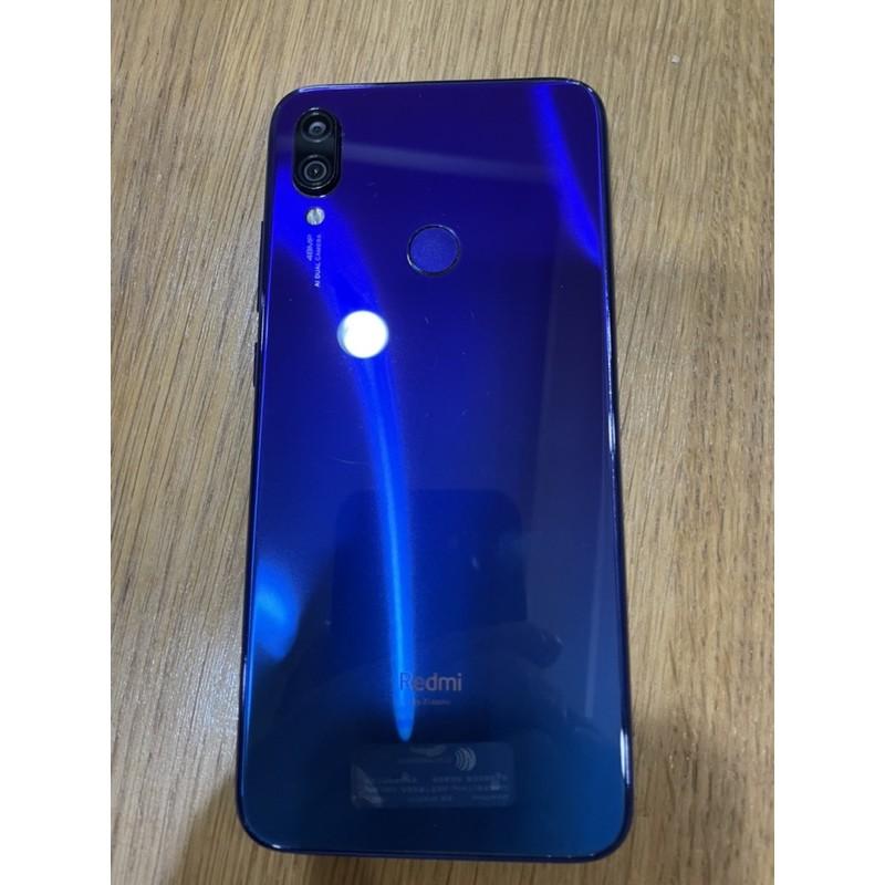 紅米 Note7 64G 亮藍色 二手機 (已訂購)