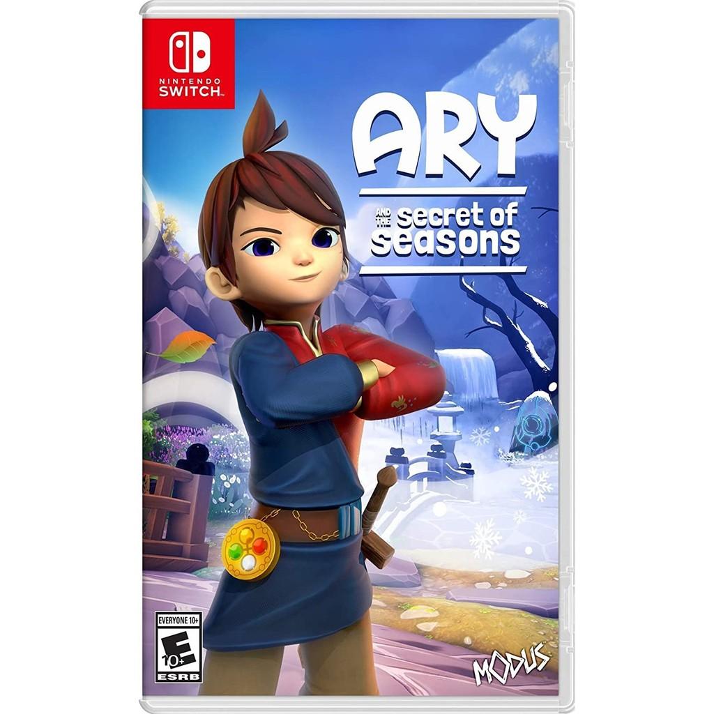 任天堂 Switch遊戲《艾莉與季節的秘密 Ary and the Secret of Seasons》美版(支援中文)