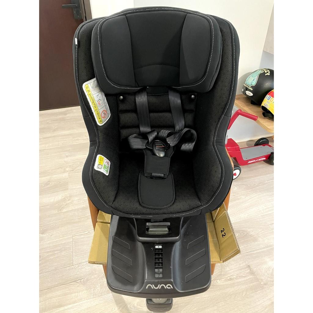 (二手)Nuna rebl plus 安全座椅 黑色  Isofix接口 360度旋轉