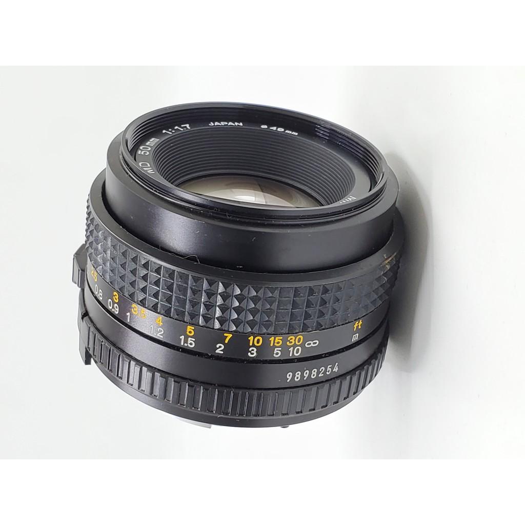 Minolta 50mm F1.7 MD No. 9898254