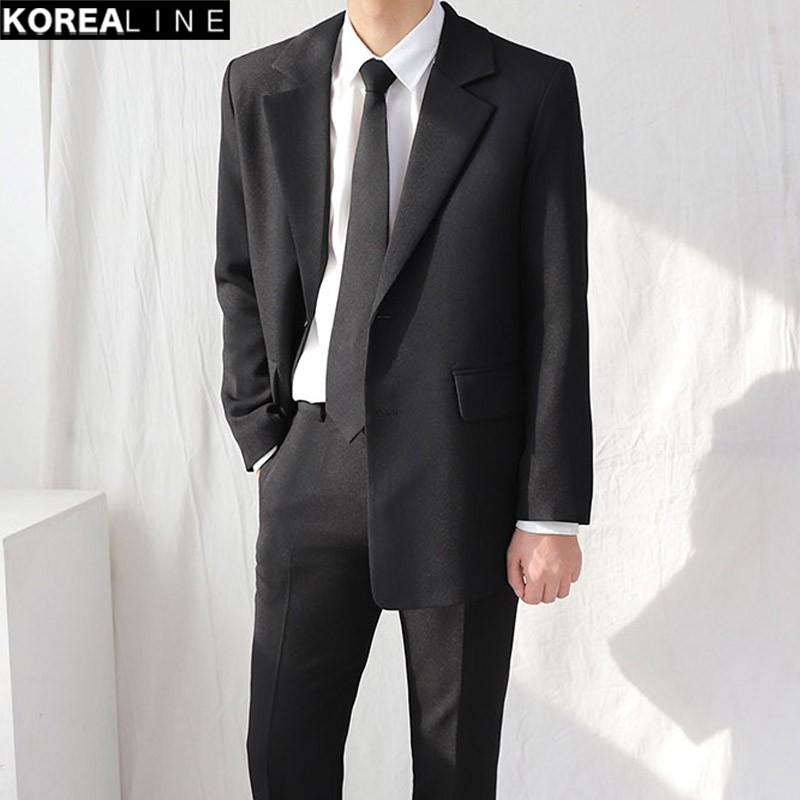 正韓男裝 雙排扣西裝外套 / 2色 / HNT5665 KOREALINE 搖滾星球