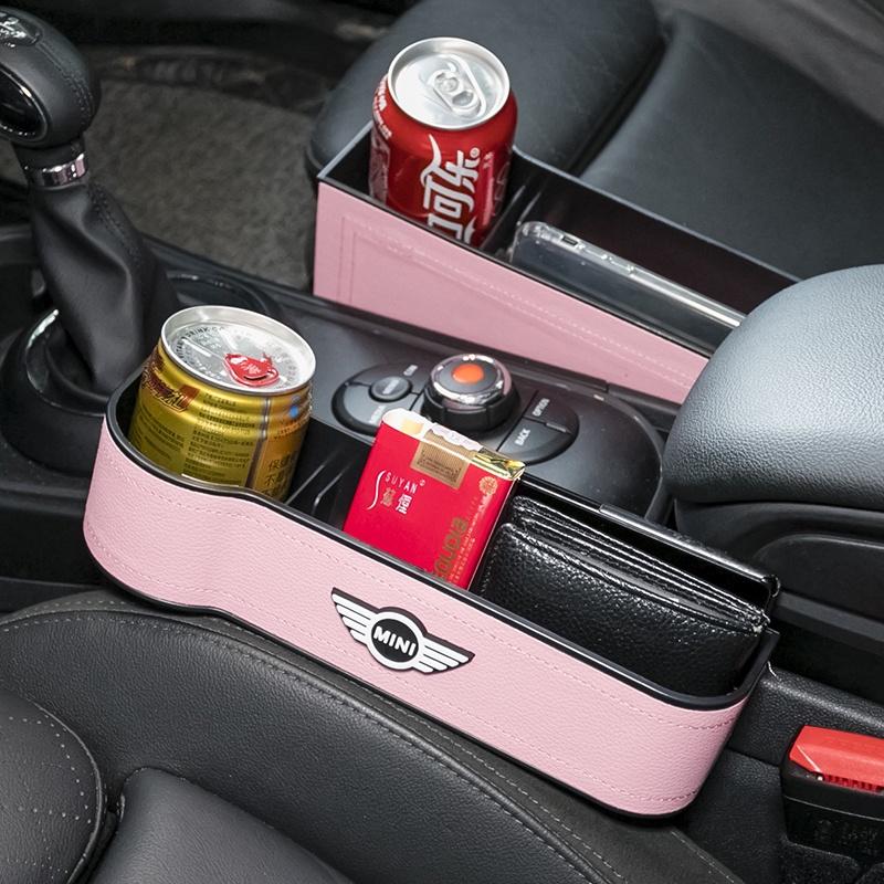 🌺免運費!新款-多功能💮寶馬迷你mini cooper coutryman車載座椅夾縫收納車座縫隙儲物盒