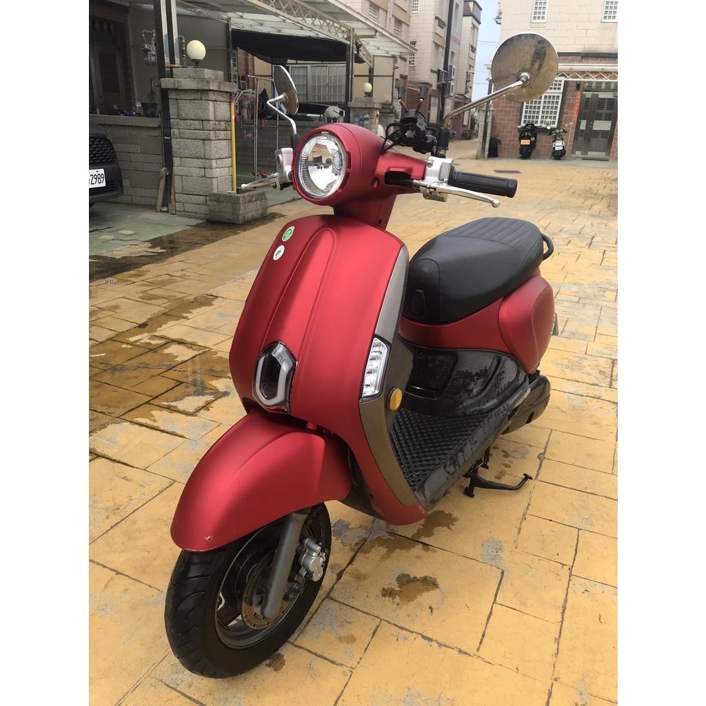 (苗栗) 二手 kymco 光陽機車 2018 new many 110 前碟