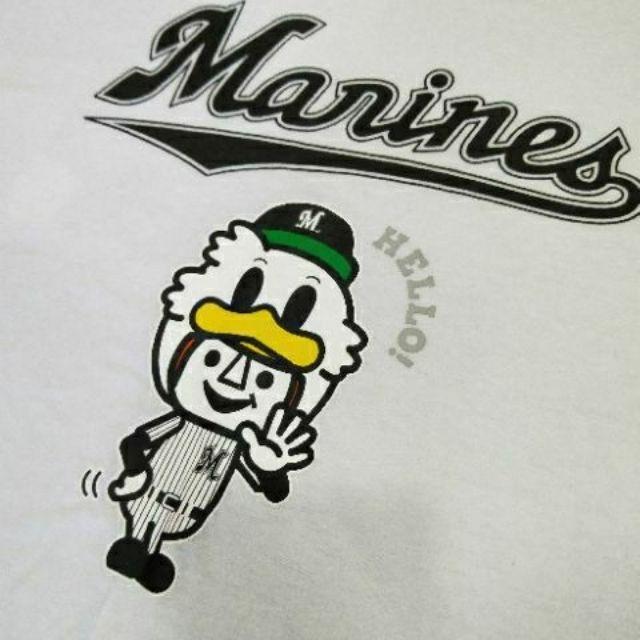 日本NPB 棒球 千葉羅德海洋 Marines 限定 聯名 纪念短袖 卡通T恤 日本職棒 潮T時尚好看百搭款