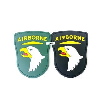 《火力全開》現貨 101空降師 PVC徽章 臂章 識別章 美軍部隊章 兩色可選-DU01101
