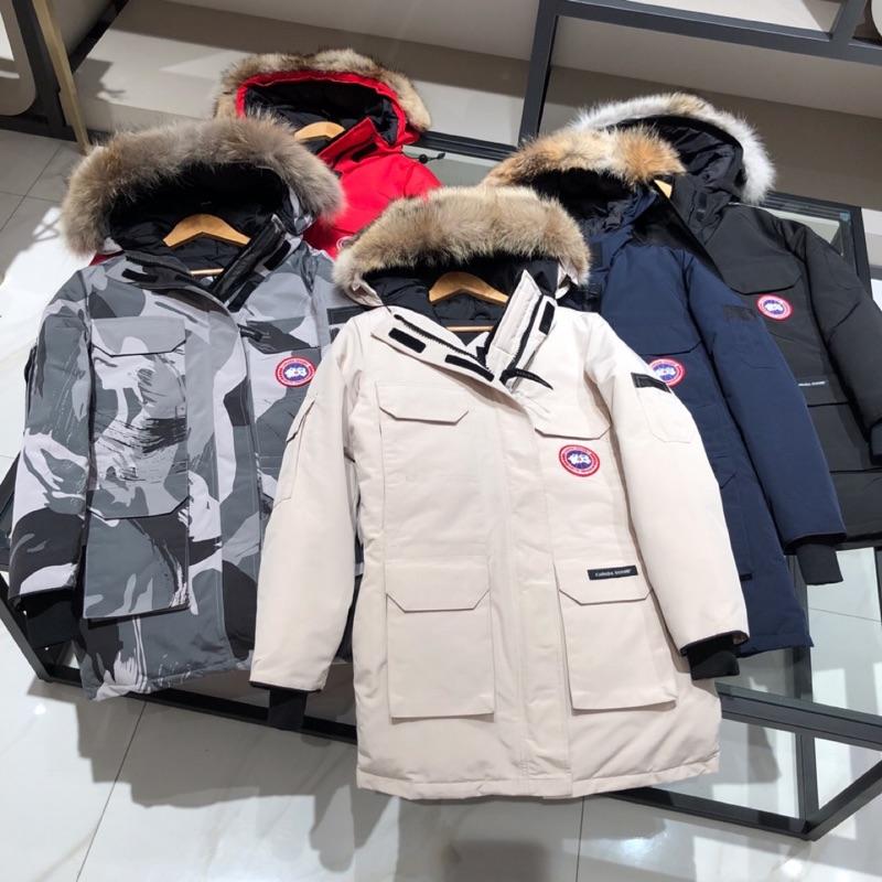 正品保真男女同款Canada goose加拿大鵝EXPEDITION PARKA遠征派克羽絨外套 毛領可拆 有6色可選