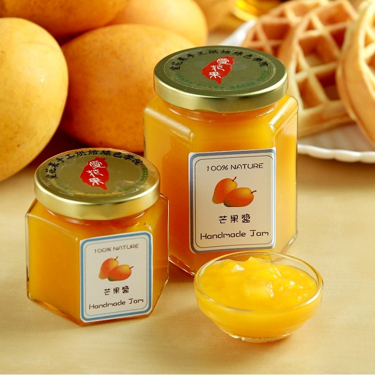 【愛花果】芒果醬 天然無添加健康果醬