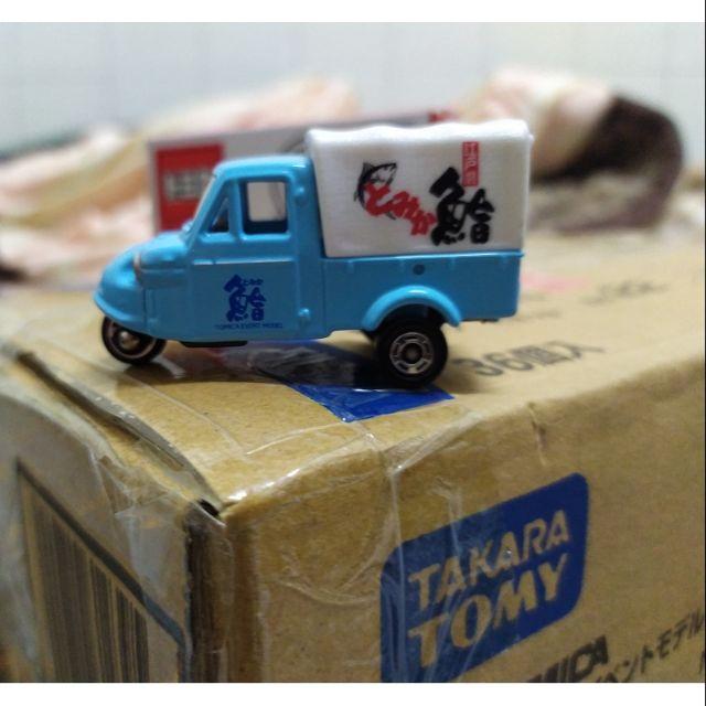 2018 TOMICA 橫濱 會場 限定 期間 TEM NO 22 三輪 小雞車 鮪魚 魚販 專用 Daihatsu