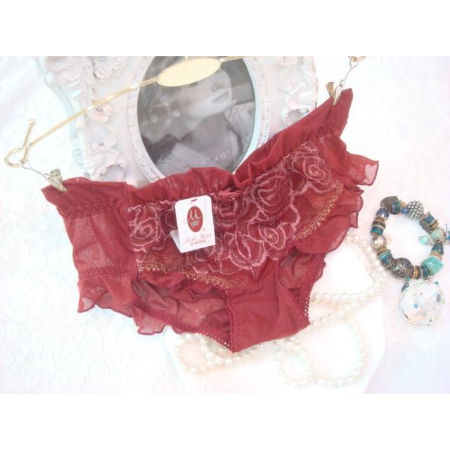 拜金的店 曼黛瑪璉內褲( M 號) F64012 MR02 紫紅色