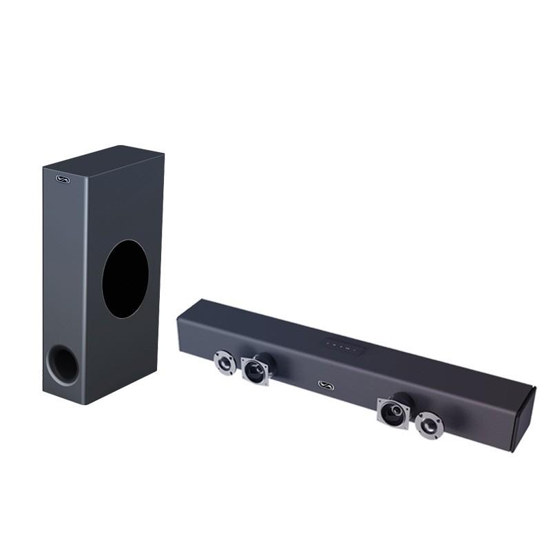 💖精品現貨💖 2019新款 藍牙音箱 soundbar無線3D 環繞家庭影院 藍牙K歌套 裝音箱